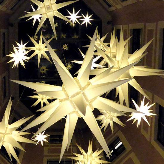 Popular LED White Christmas Motif Ball Light for Outdoor /Indoor