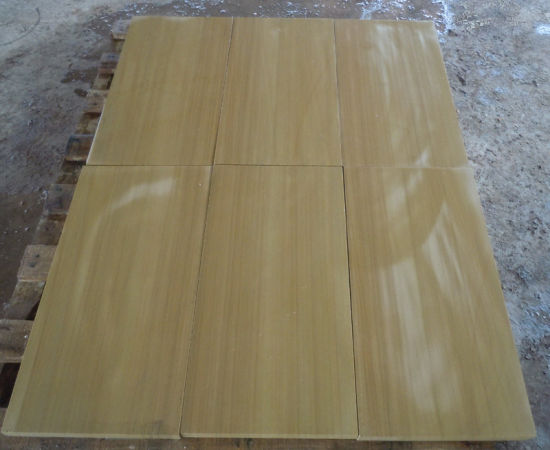 Top Quality Natural Popular Hottest Yellow Honed Sandstone pictures & photos
