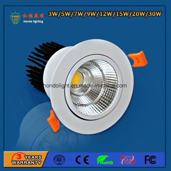 Best Selling 30W COB Dimmable LED Downlight