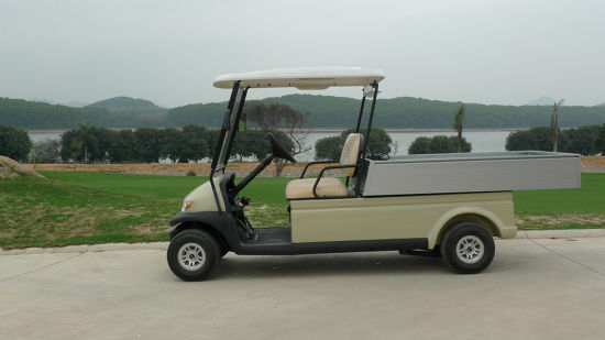 Cheap 2 Seater Electric Utility vehicle Golf Car with Cargo pictures & photos