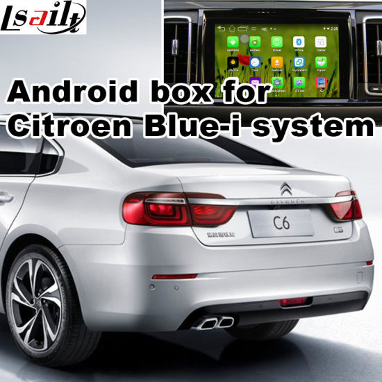 China Android GPS Navigation System Box for Citroen C6