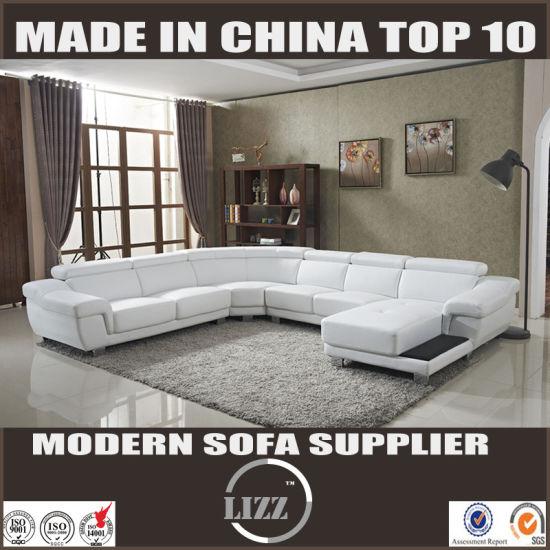Divano In Pelle Con Recliner.China Divano In Pelle U Shape Leather Sofa Lz2293 China Sofa