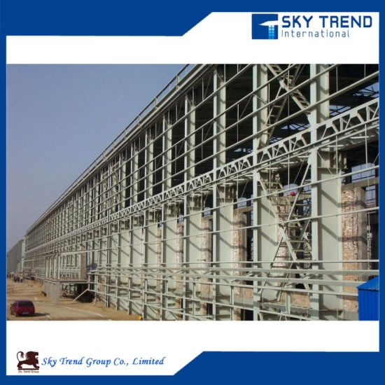 China Design Plant 3D Model Steel Structure - China Prefabricated