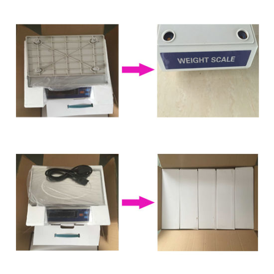 Weighing Scale Electronic Platform Digital Wight Counting Scale RS232 Cable pictures & photos