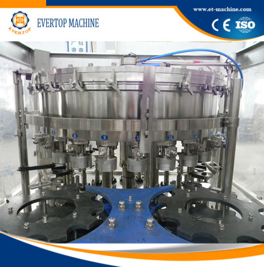 Monoblock Water 3in1 Water Filling System Line for Tin Can pictures & photos
