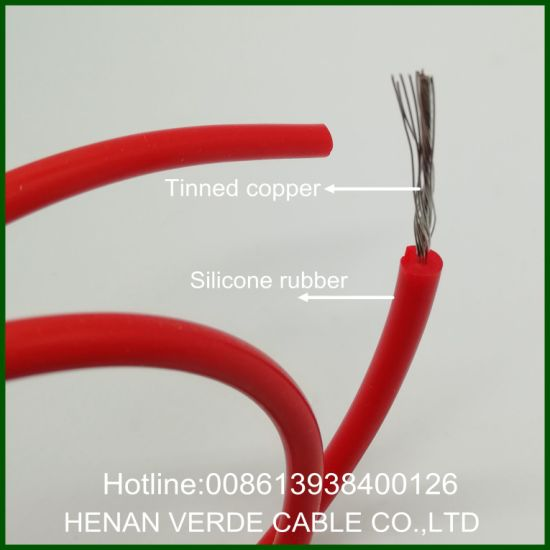 High Temperature Resistance Tinned Copper Flexible Teflon Silicone Rubber Wire