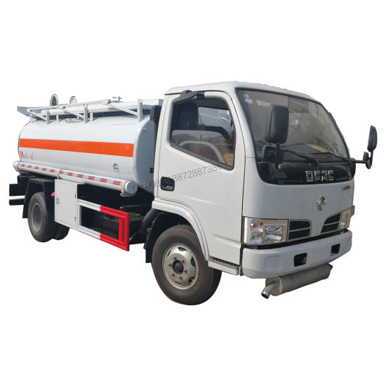 Dongfeng Euro2 Left Hand Drive 81HP 2000 Liters Fuel Tanker Truck with Fuel Dispenser