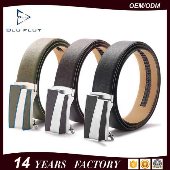 Fashion Style Custom Color Leather Mens Waist Belts