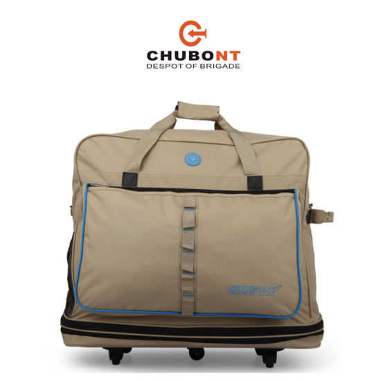 6ce18c3a86 China Chubont Khaki Color Expandable 5 Wheels Travel Handbag - China ...