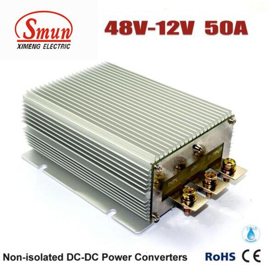 48V to 12V 50A 600W DC-DC Converter Car Power Supply