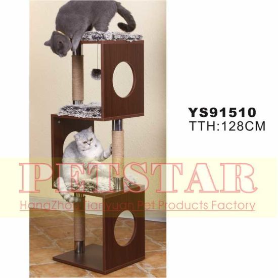 Luxary Cat Tree Ys91510 pictures & photos