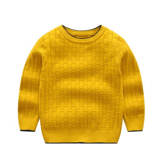 dea5587e6 Casual Style Custom Logo Cotton Sweatshirt Plain Crewneck Comfortable Kids  Sweater