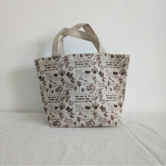 4961971f9 China Printed Cotton Canvas Carry Bag - China Handbag, Tote Bag