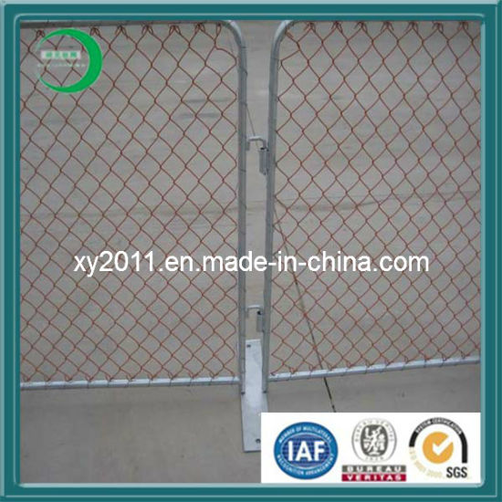New Style PVC Chain Link Fence pictures & photos