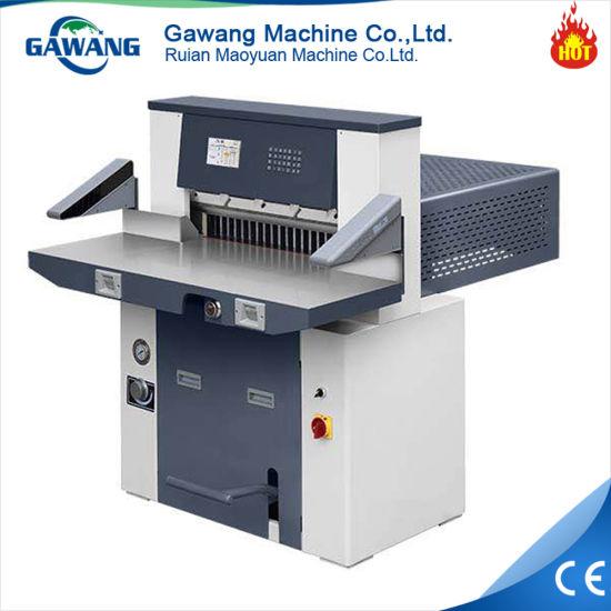 Gear Driving Paper Rolls Guillotine/ Paper Cutter/ Paper Cutting Machine
