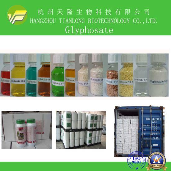 Glyphosate (95%TC, 360SL, 480SL, 62%IPA, 75.7% WSG, 88.8%WSG)