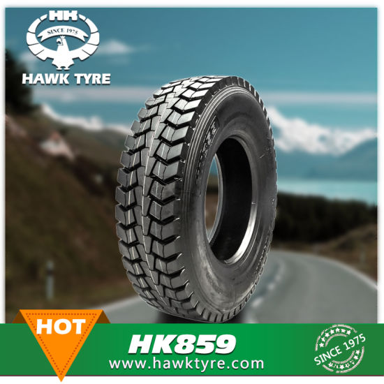 Superhawk Marvemax Hawkway Commercial Truck Bus Tire, High Overload Capacity and Long Mileage, 44 Years' Tire Factory Since 1975