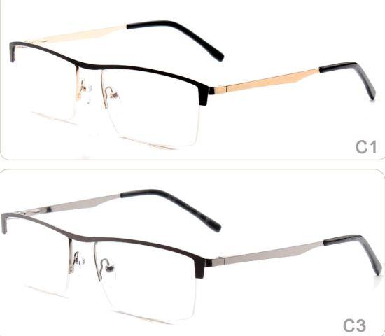 ad9fe06c3ae Online Ready Stock Men Glasses Frame Half Rim Metal Stainless Steel Optical  Frame Spectacle Frames Glasses Eyewear. Get Latest Price