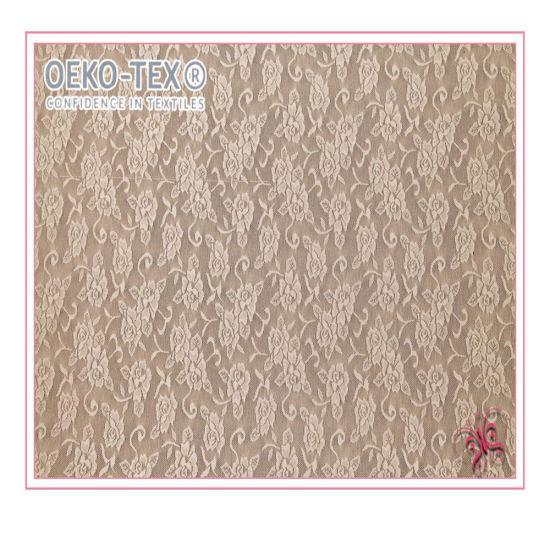 High Quality Good Stretch Fashion Design Lace Fabric