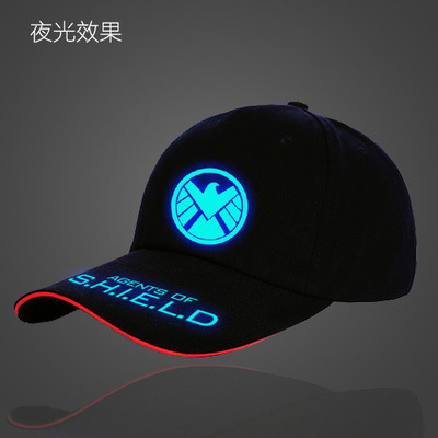 100% Cotton Custom Flashing Baseball Cap pictures & photos