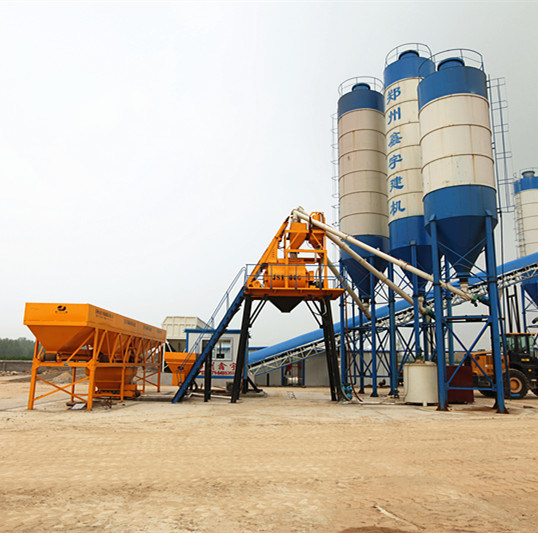 China High Quality Concrete Mixing Plant (HZS25) pictures & photos