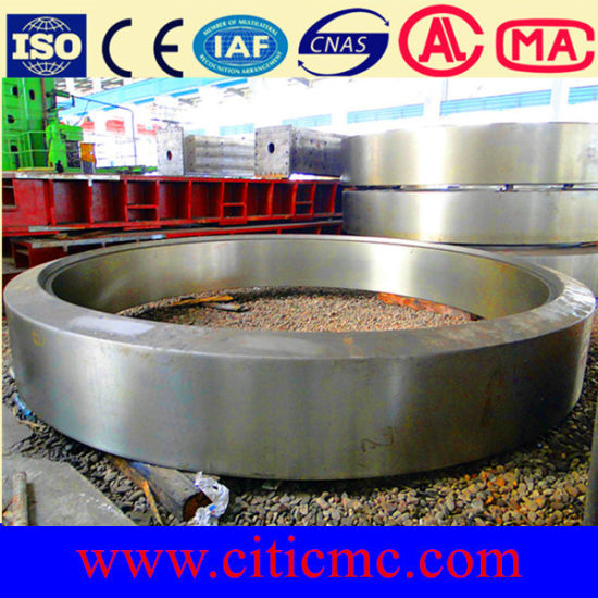 Citic IC Oxidized Pellet Rotary Kiln Parts Support Roller & Rotary Kiln Tyre pictures & photos