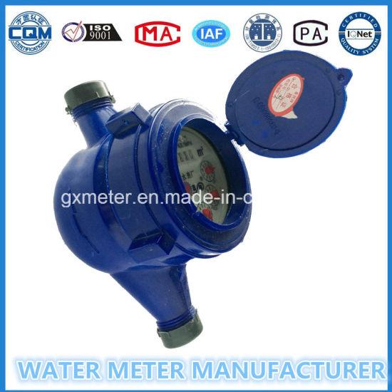"""""""1/2""""-""""3/4"""" ABS Plastic Water Meters of Multi-Jet Types"""