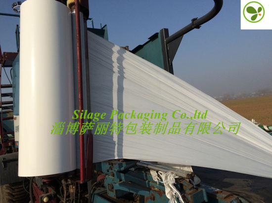 Anti-Odious Environment Jumbo Silage Wrap Film 250/500/750X1500X25um pictures & photos