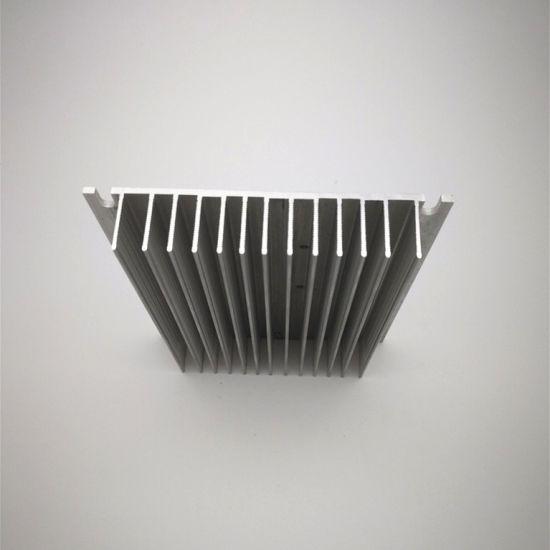 OEM Aluminum Heat Sink Customized Extruded Aluminum LED Aluminium Heatsink