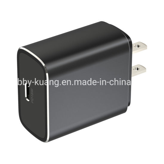 Smart Cell Mobile Phone Pd18W Travel Wall Charger with Us Plug