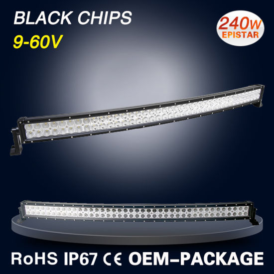 LED Light Bar for Jeep IP67 4X4 off Road Double Row 240W pictures & photos