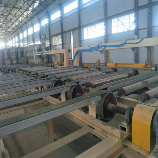 Gypsum Plaster Board Plant Line (thermal oil drying/hot air drying)
