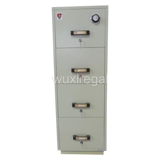 UL Fire Resistant Filing Cabinet, Vertical Metal Cabinet (UL824FRD-II-4014)