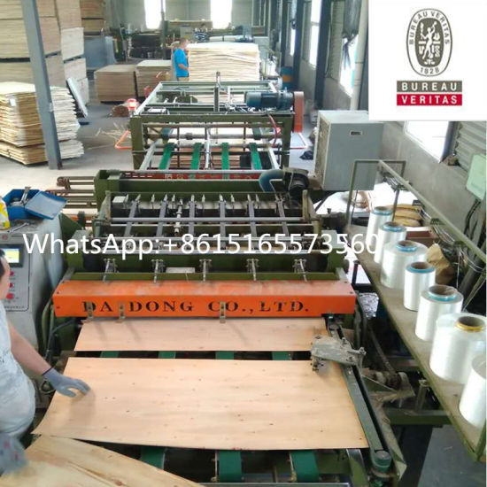Full Automatic Woodworking Machine Core Veneer Composer Machinery pictures & photos
