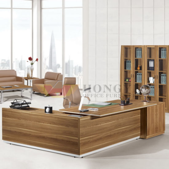 Online Classic Boss Modern Modular Ergonomic Quality Wooden Office Furniture  Executive Desk For Office Furniture