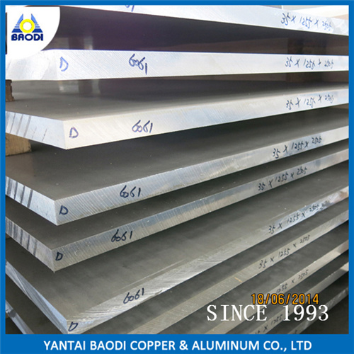 Factory Price of En Standard 3003/5005/5052/5083 /6061 Aluminum Alloy Sheet /Plate pictures & photos