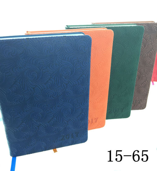 Loose-Leaf Notebook/ Leather Jotter/ Customized PU Notebook pictures & photos