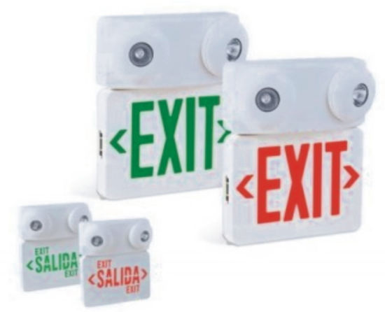 Emergency LED Green Exit Acrylic Lighting Sign Safety Light in Corridor Channel (HK-218)