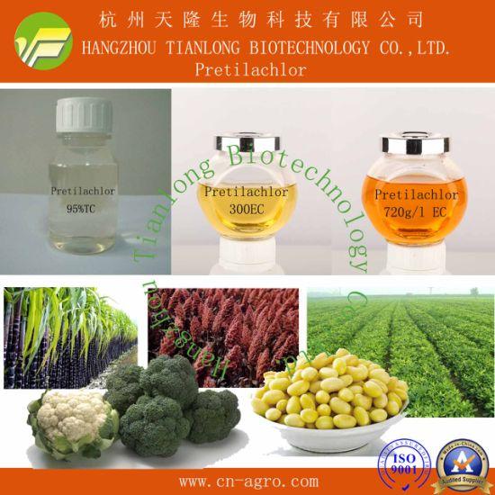 Good quality herbicide Pretilachlor (95%TC, 300EC, 500 EC, 720g/l EC)