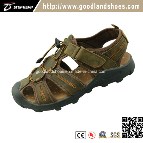 41c6051485064 China New Fashion Style Leather Sport Sandals Shoes for Men 20016-1 ...