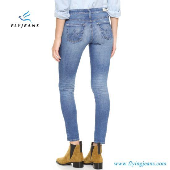 0d380748d 2019 Factory Hot Sale Fashion Women/Ladies Skinny Denim Jeans (pants E. P.  415). Get Latest Price