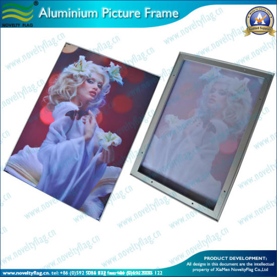 Aluminum Advertisement Frame/Picture Frame/Photo Frame/Metal Frame (B-NF22M01101) pictures & photos