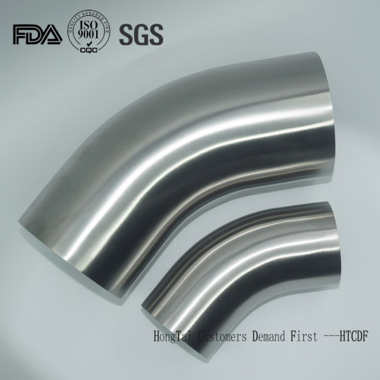 Food Grade Stainless Steel Elbow Fittings with DIN Standard pictures & photos