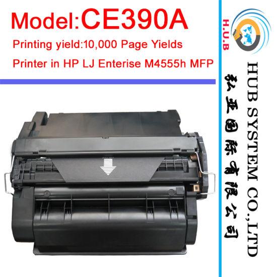OEM Laser Cartridge Toner Ce390A (90A) for HP Laserjet Enterise M4555h