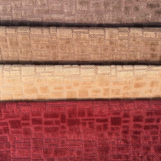 1-2USD/M Jacquard Velvet Sofa Fabric (BL079) pictures & photos