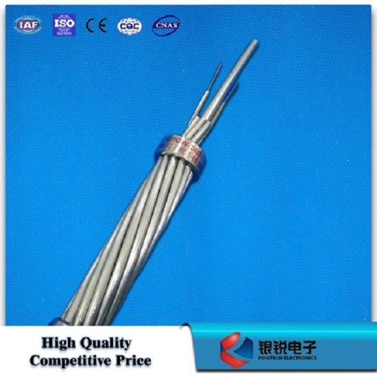 China Optical Fiber Composite Ground Wire (OPGW Eccentric tube ...