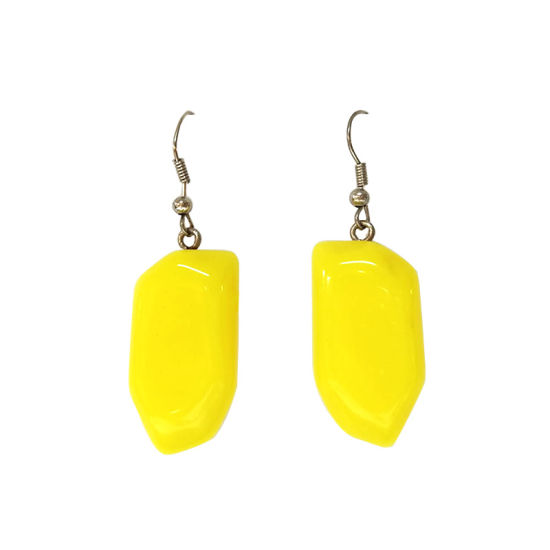 Yellow Fashion Earrings Women Accessories Hc-E031 pictures & photos