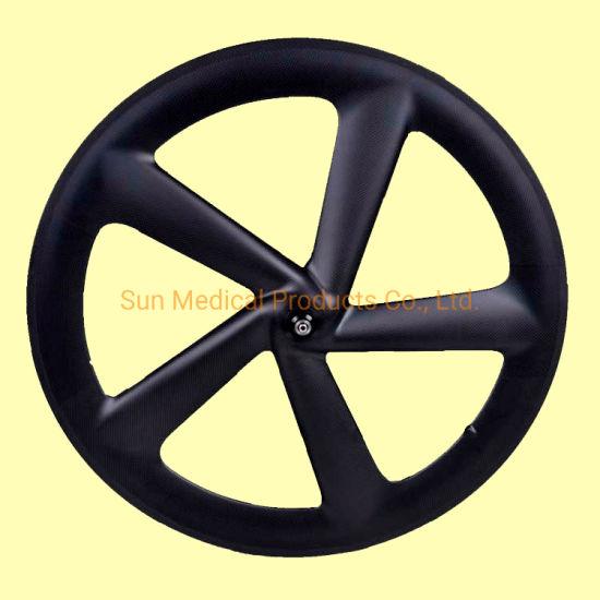 Carbon Bicycle Wheels T700 Carbon 700c Clincher -Carbon Road Bike 5 Spokes Wheel Rim