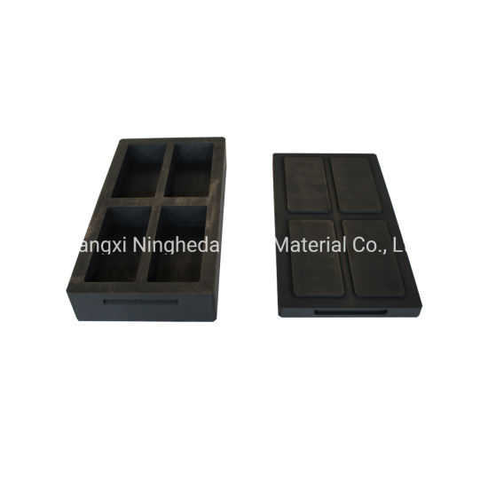High Density Graphite Mold for Gold Silver Aluminum Casting
