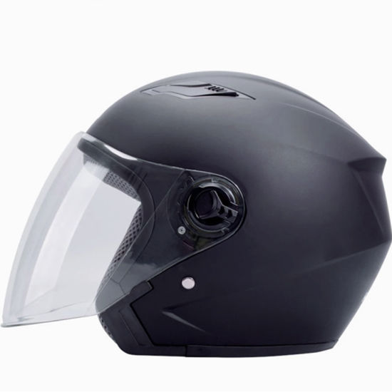 ABS Material Motorcycle Open Face Safety Casco Helmet